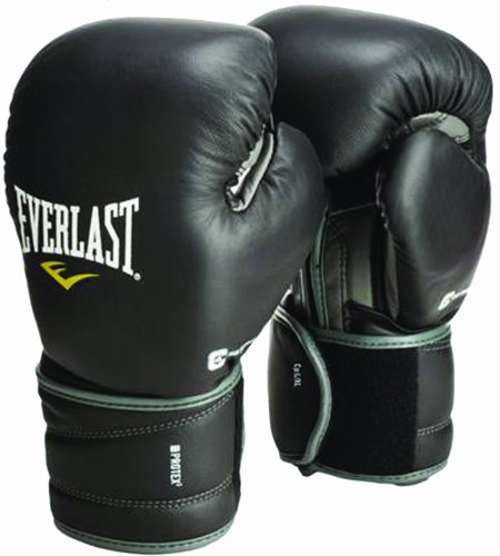 Everlast Erwachsene Boxartikel 3116 Protex Training Gloves, Black, 16, L/057236 03070