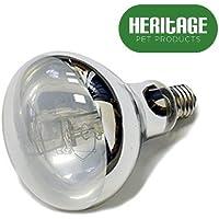 Heritage Nature-Glow D3 - Lámpara UV de caña de Pescar para Reptiles, Bombilla UVB combinada con Mercurio y Vapor