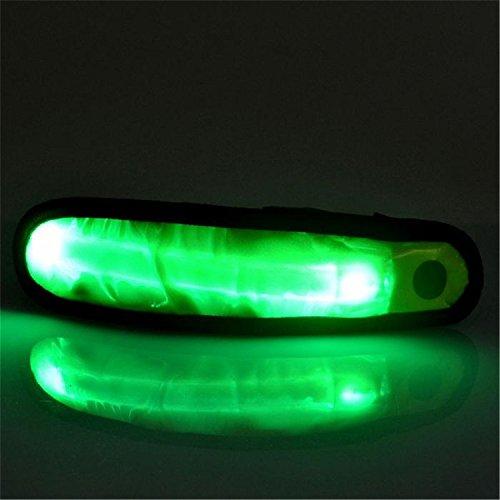gung Arm Handschlaufe Warnlicht Hochwertige Leuchtende Arm Handschlaufe LED-Licht, Led Glow Sicherheit Camping Laufen Sport Armband Licht (Farbe : Green) ()