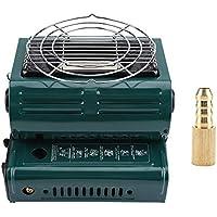 TOPINCN Calentador de Gas portátil al Aire Libre Uso Dual Calefacción al Aire Libre Cocina Calentador