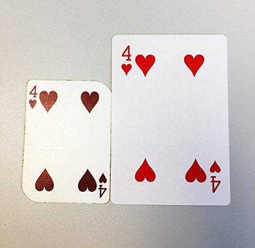 TRIXES 86mm x 122mm Large Playing Cards 52 Card Deck and Two Jokers