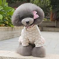 Formulaone Mode Winter Verdickung Warm Halten Haustier Katze Hund Kleidung Baumwolle Rock Bequeme Weste Coat Gemütliche Jacke Pet Supplies - Rosa S