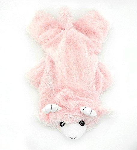 tze klein Hund Kleidung Warm Plüsch Fleece Ziege Kostüm Halloween Kleid bis (Chihuahua-kostüme Für Halloween)