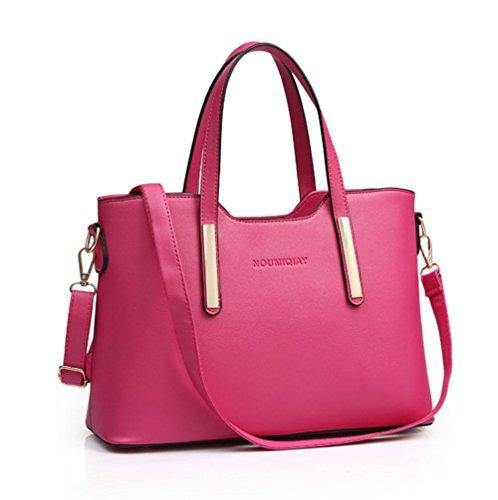 GBT 2016 Neue einfache Stereotypen arbeiten Handtaschen um rose red
