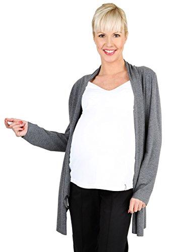Be! mama Cardigan Nappy, Refroidissement Pull Cardigan et Débardeur d'allaitement Ensemble - Pull d'allaitement/Fait Parfaite pour 2 en 1 Mois - Multicolore -
