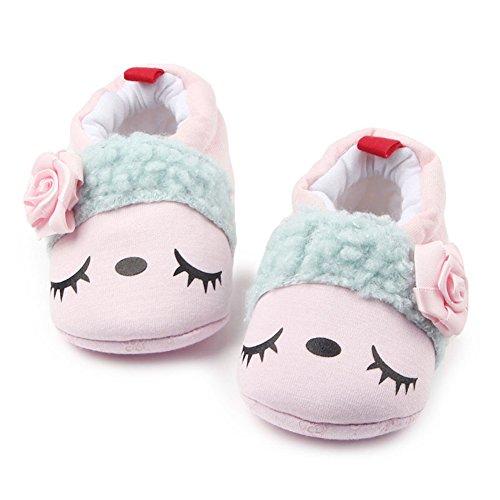 Leap Frog  Winter Snow Boots, Baby Mädchen Lauflernschuhe Rose