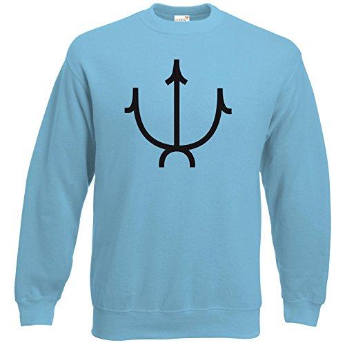 getshirts-das-schwarze-auge-sweatshirt-gtter-symbole-efferd-pastellblau-l