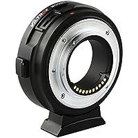 Viltrox EF-M1 Enfoque Automático AF Adaptador Objetivo Convertidor para Canon EF EF EF-S Objetivo para M4 / 3 Cámaras Panasonic GH5 GH4 GX7 GF7 GM5 Olympus OM-D E-M5 E-M10