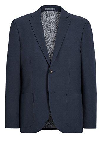 next Herren Signature Tailored Fit Baumwollblazer Marineblau EU 96.5 Regular (UK 38R) -
