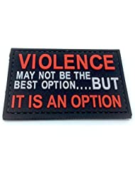 Violence is An Option PVC Airsoft Patch