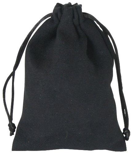 Samtsäckchen schwarz mittel - Zustand Kordelzug