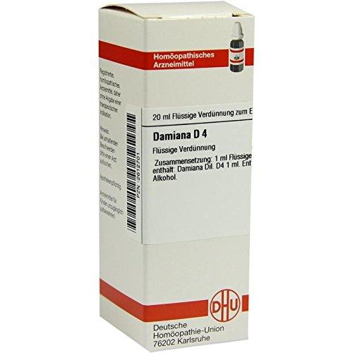 DHU Damiana D4, 20 ml Lösung