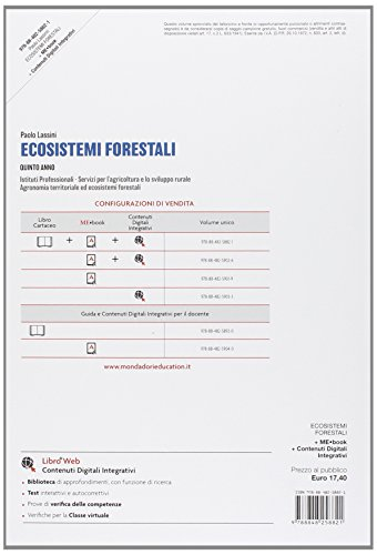 Agronomia territoriale ed ecosistemi forestali. Per gli Ist. tecnici. Con e-book. Con espansione online