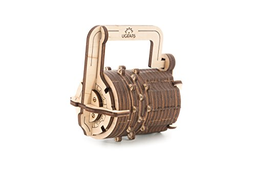Combination Lock - Mechanical Model Construction Kit by Ugears