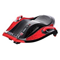 Rollplay 16711 Electric Sliding Vehicle, for Children from 6 Years up to Max. 50 kg, 12 Volt Rechargeable Battery, Up to 12km/h, Nighthawk, Red