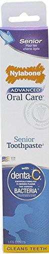 Nylabone avanzada oral cuidado de perro superior G pasta de dientes