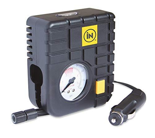 In auto® pneumatici ad aria 12V il top della gamma Essentials Heavy Duty mini emergenza pneumatico compressore auto pneumatici o per bici/bicicletta pneumatici con luce a LED, per fino a psi