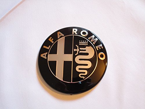 insigne-alfa-romeo-noir-pour-capot-avant-ou-arriere-pour-giulietta-159-mito-147-gt-74-mm
