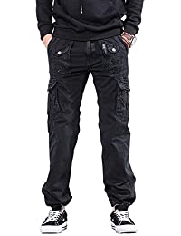 Outdoor Hose Herren Lang Frühling Herbst Workwear Pants Arbeitshose  Baumwolle Kleidung Cargohose Mit Viele… 64052df4d5