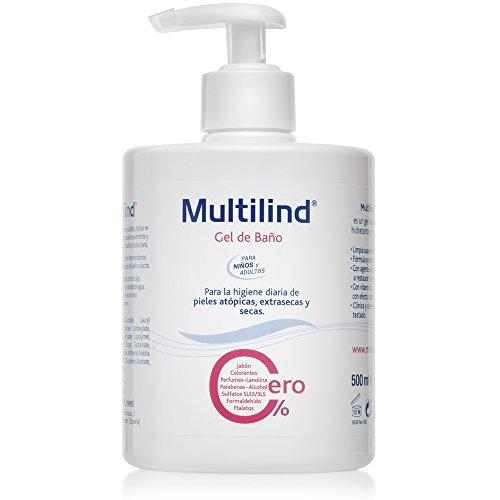 Multilind - Gel de Baño, Hipoalergénico, Hidratante,
