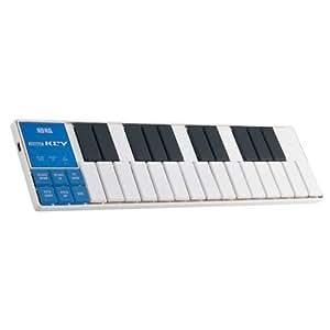 Korg NanoKey Slim-Line USB Keyboard - White Finish