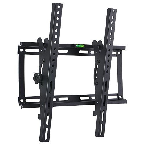 MODERN LIFE Soporte de Pared para TV de 23-55 Pulgadas 58-140cm, ±15° Inclinable, VESA 100x100-400x400mm...