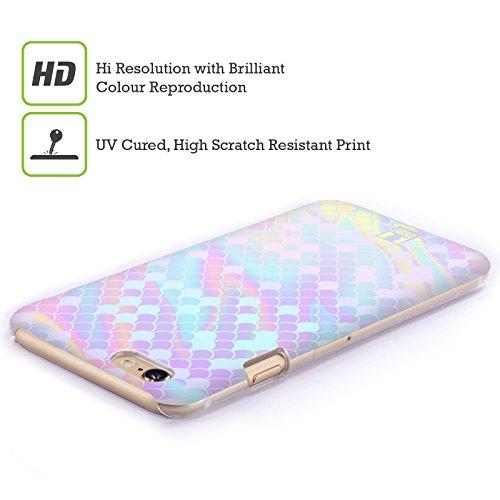 Head Case Designs Scintille Échelles De Sirène Étui Coque D'Arrière Rigide Pour Apple iPhone 3G / 3GS Holographique