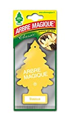 Idea Regalo - Arbre Magique Tris, Deodorante Auto, Fragranza Vaniglia, Profumazione Prolungata fino a 7 Settimane