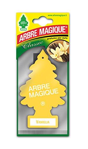 Arbre Magique Tris, Deodorante Auto, Fragranza Vaniglia, Profumazione Prolungata fino a 7 Settimane