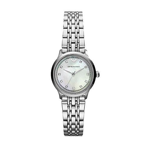 Emporio Armani Damen-Armbanduhr Analog Quarz Edelstahl AR1803