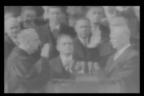 Dwight D. Eisenhower Presidential Inauguration [DVD] (1953) - American President: Ike Eisenhower's Oath of Office & Inaugural Speech (Dwight Dvd Eisenhower D)