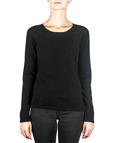0a0865a7d18b CH 100% Kaschmir Damen Pullover   Sweater Rundhalsausschnitt 2-fädig