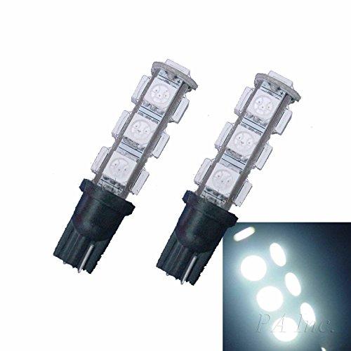 PA 10 pcs T10 T15 921 168 194 13smd 5050SMD LED Auto Voiture Moteur Wedge ampoules Blanc