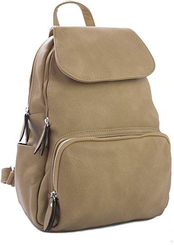 Big Handbag Shop , Zainetto per bambini Beige (Beige toscano)