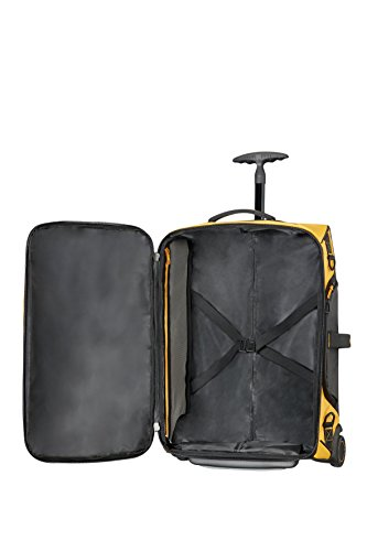 Samsonite- Paradiver light - Reisetasche mit Rollen,(55cm-51 L Gelb(YELLOW)