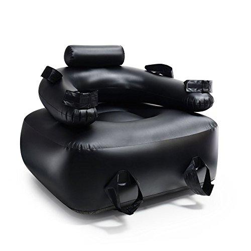 Sex-Möbel Kissen-Bondagesofa, mit Handschellen-Knöchel-Restraint- lieben Stuhl für Paare Aufblasbares