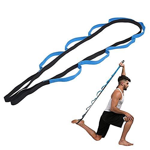 O RLY Yoga Gurt Strap Fitness Resistance Bands Widerstandsband Trainer Straps Gymnastikband Trainingsbänder Fitnessbänder Expander