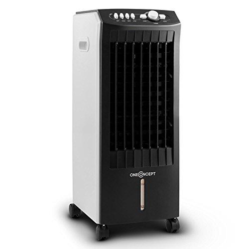 oneConcept MCH-1 Enfriador de aire Climatizador 3 en 1 portátil 65W (400...