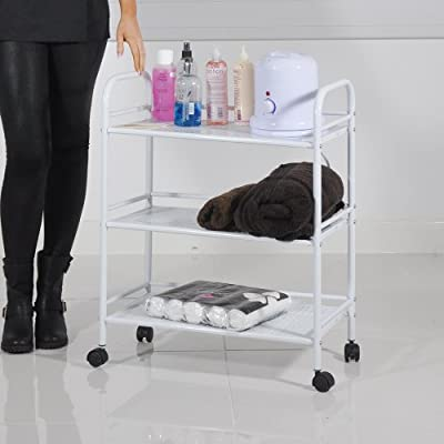 HEAVEN® Beauty Salon 4 Shelf Mini Side Trolley Therapy Dentist Hairdresser