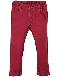 Grain de Blé Chino Rouge, Pantalon Bébé Garçon