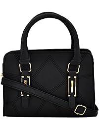 Mark & Keith Women Black Handbag (MBG 0478 BK)