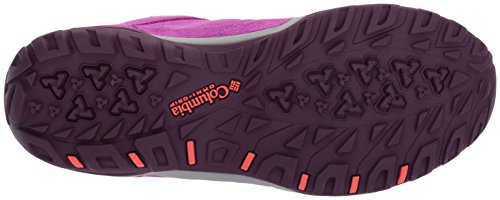 Columbia Fire Venture Mid Waterproof, Scarpe Sportive Outdoor Donna Viola (Intense Violet, Melonade 519Intense Violet, Melonade 519)