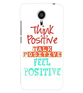 ColourCraft Quotes Back Case Cover for MEIZU MX5