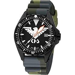 KHS Mens Watch MissionTimer 3 Eagle One KHS.MTE.DC3