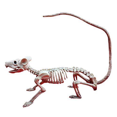 ShiyiUP Tierische Mausknochen Skelett Party Halloween Karneval Fasching Dekoration