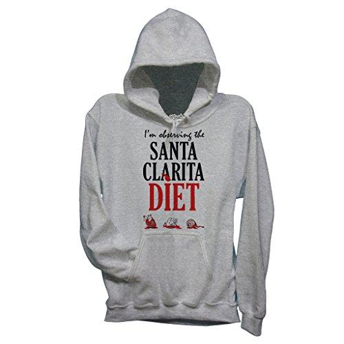 Sweatshirt Santa Clarita Diet - MUSH by Mush Dress Your Style - Herren-XXL-Grau