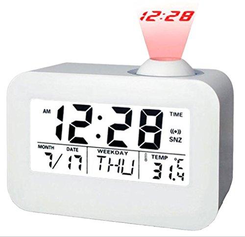 Proyección Reloj Despertador Reloj Parlante Relojes de Luz de ...