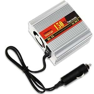 CONVERTISSEUR VOITURE TRANSFORMATEUR 12V 220V alimentation allume-cigare +USB adaptateur