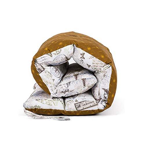 Coussin Bain de Soleil transat Topper, Remplacement Pad Jardin Confortable Moelleux Galettes de Chaise Inclinable Relax Lounge Coussins de Chaise Haut Dos Coussin d'assise-Blanc 165X57cm(65x22in)