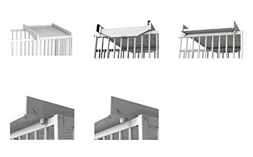 Imagen para Ateliers T 4 Ibérica 33098800 - Cambiador adaptable a cuna de 60 x 120 cm